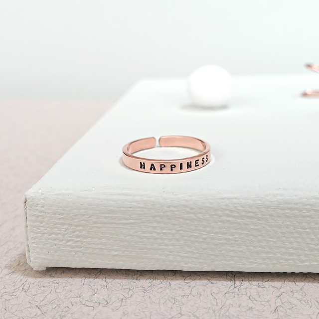 Rose Gold Filled Thin Ring