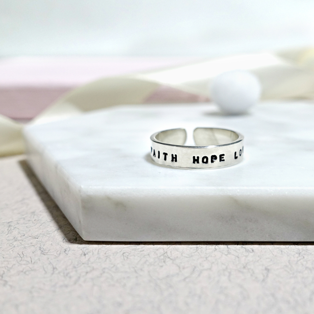 Sterling Silver Classic Ring