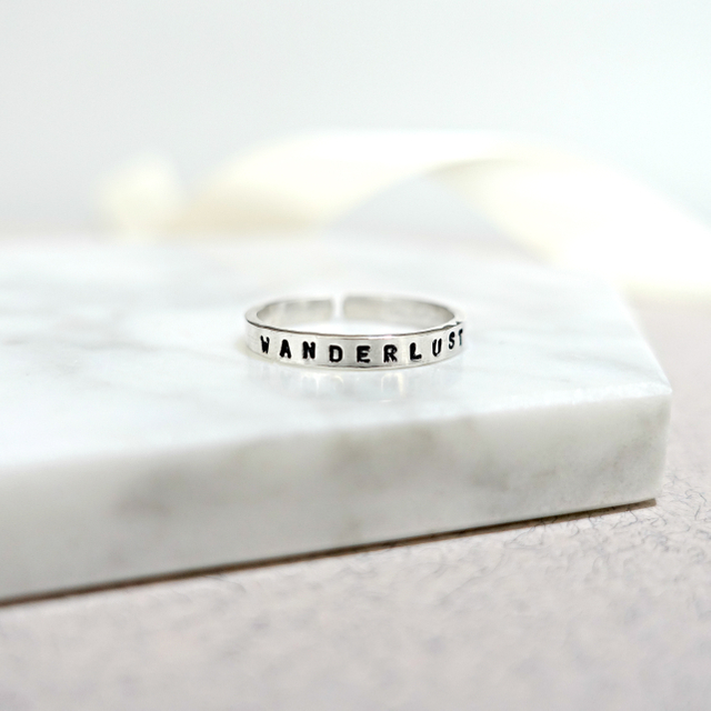 Sterling Silver Thin Ring