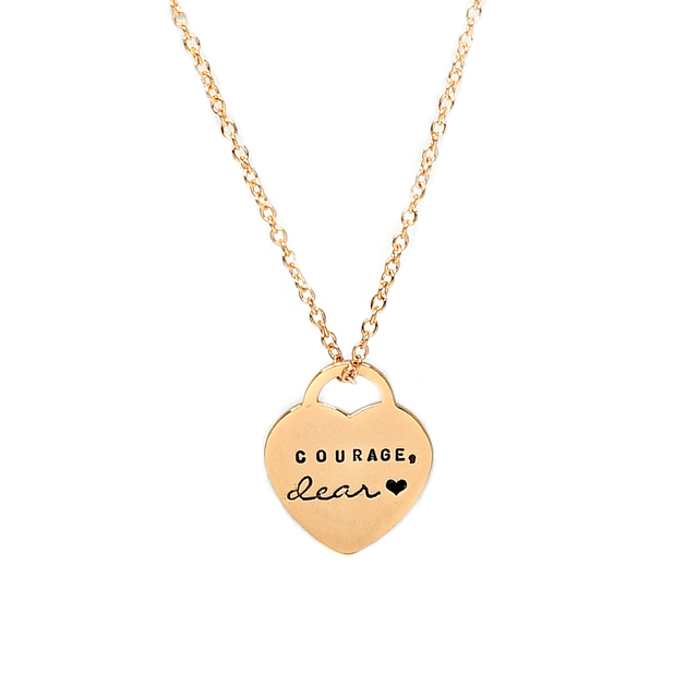 Classic Heart Necklace (Gold)