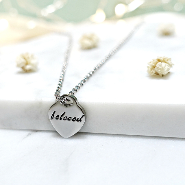 Tiny Heart Necklace (Silver)