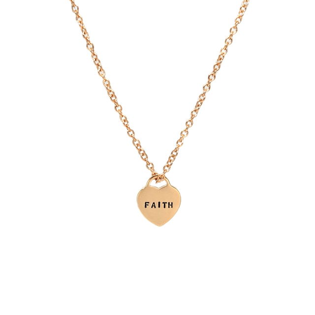 Tiny Heart Necklace (Gold)