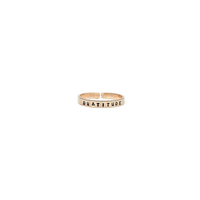 Gold Filled Thin Ring