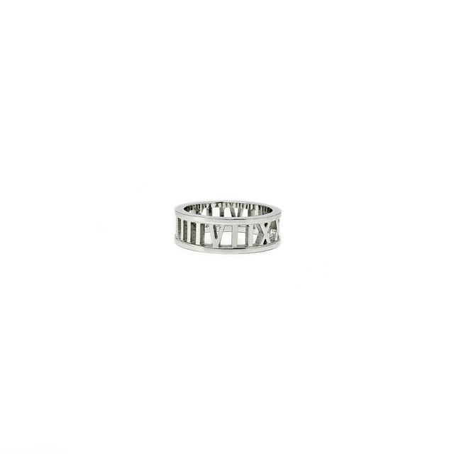 Roman Numeral Ring (Silver)