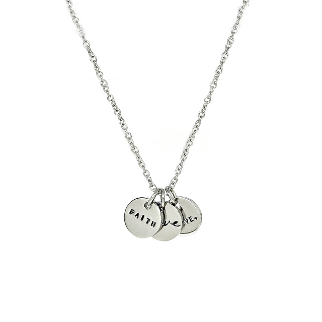 Trinity Necklace (Silver)