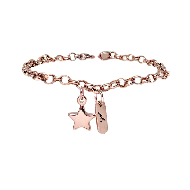 Shine Like A Star Bracelet (Rose Gold)