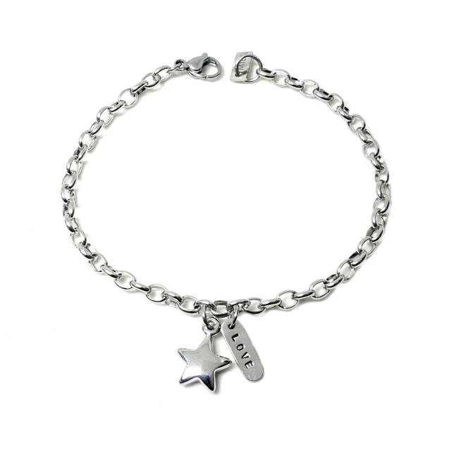 Shine Like A Star Bracelet (Silver)