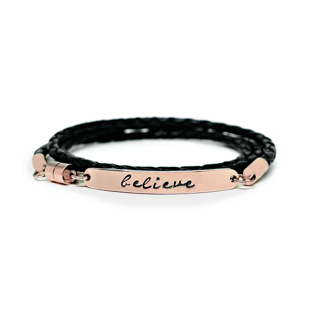Wrapped Leather Bracelet (Classic Black)