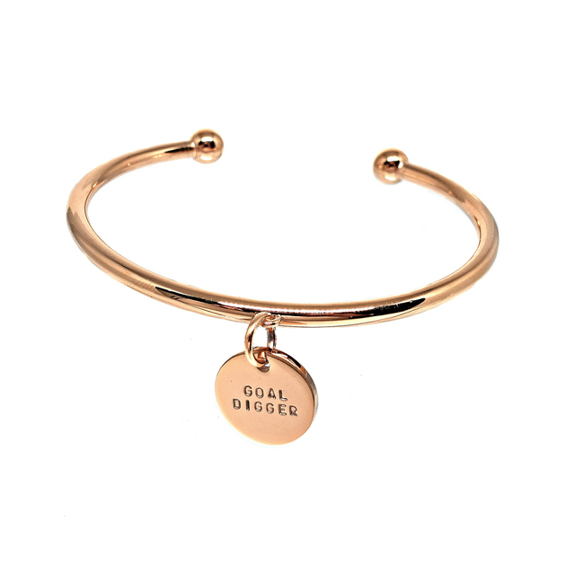 Velise Cuff Bangle (Gold)