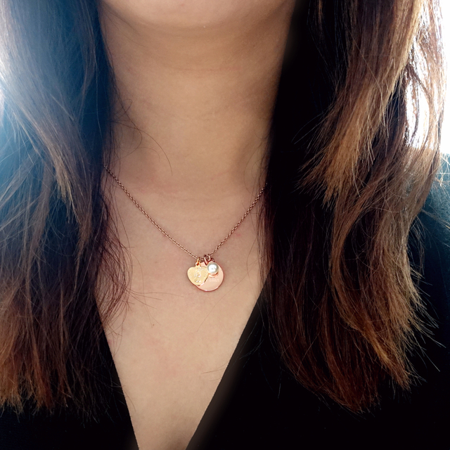 Queen Of My Heart Necklace (Rose Gold)