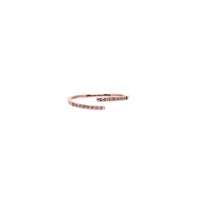 Tiered Skinny Ring (Rose Gold)