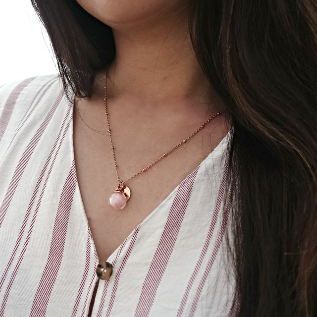 Freda Enchanted Necklace (Pink)