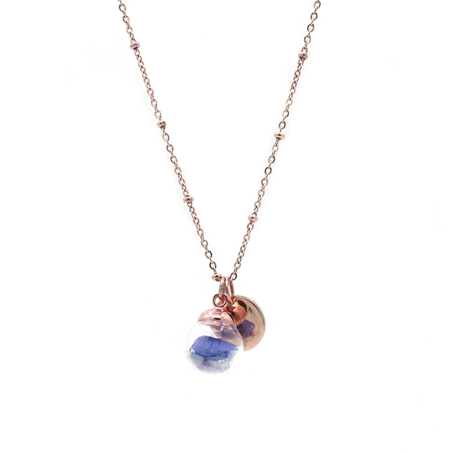 Freda Enchanted Necklace (Purple)