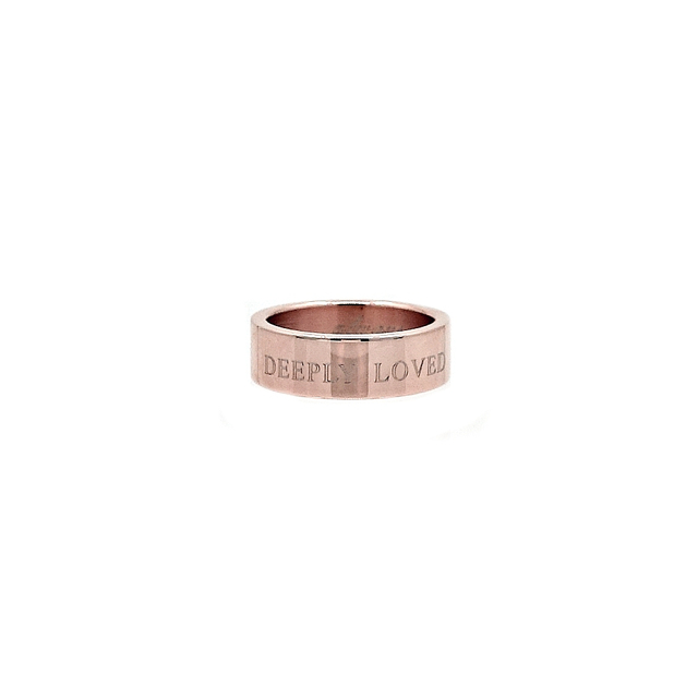 Simple Band Ring (Rose Gold)