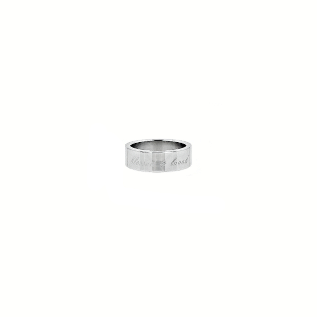 Simple Band Ring (Silver)
