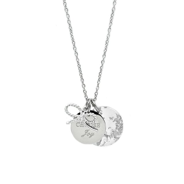 Jingle Charm Necklace (Silver)