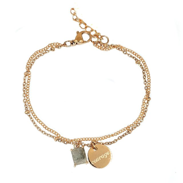 Dannie Gemstone Charm Bracelet   *Limited ED.*