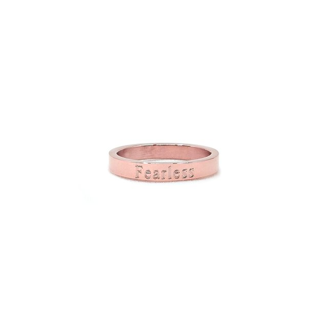 Simple Skinny Ring (Rose Gold)
