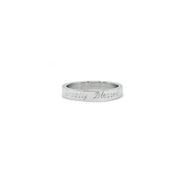 Simple Skinny Ring (Silver)