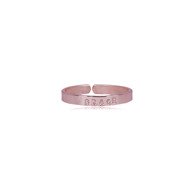 Rose Gold Filled Thin Ring - GRACE (SIZE 5)