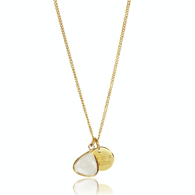 Jayne Charm Necklace (Gold)