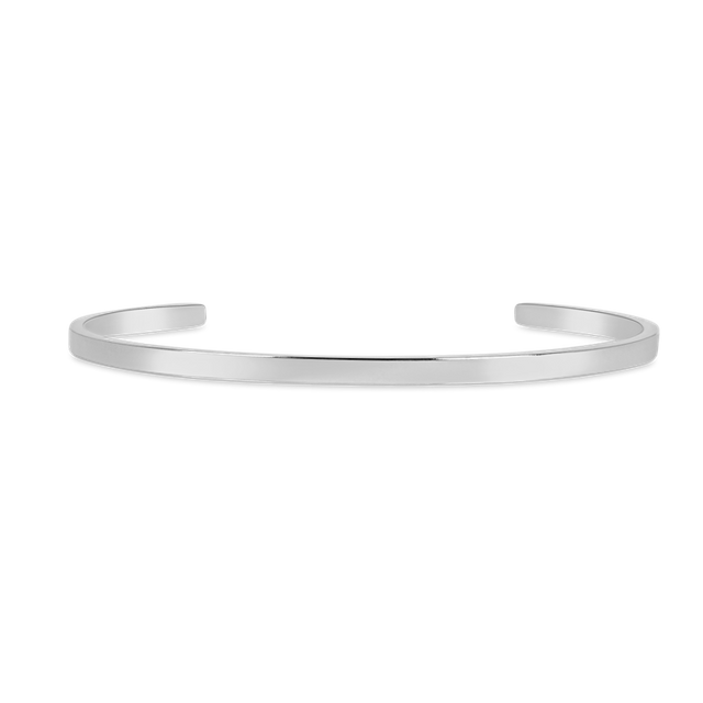 Steel Skinny Bangle (Silver)