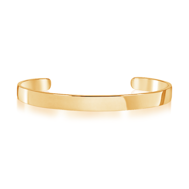 Steel Classic Bangle (Gold)