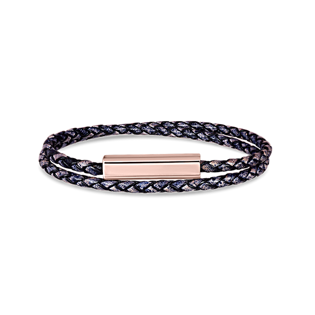 Blake Leather Bracelet (Pacific)