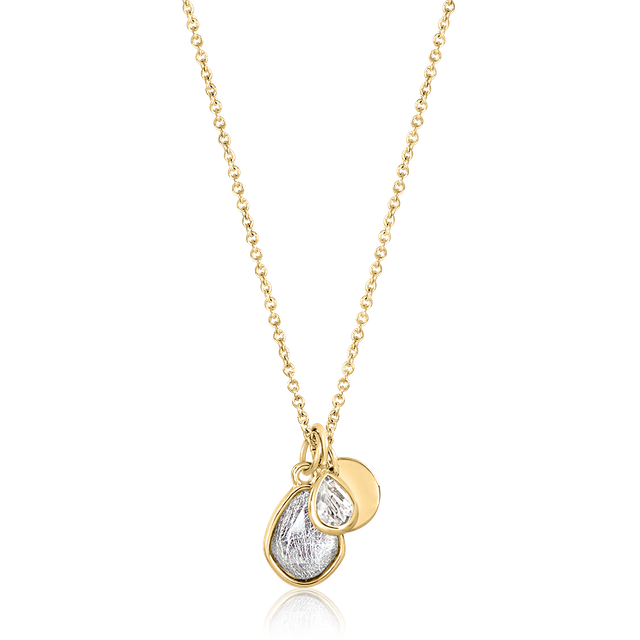 Nelly Teardrop Trinket Necklace (Gold)
