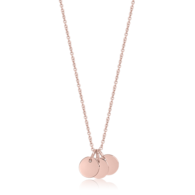 Trinity Necklace (Rose Gold)