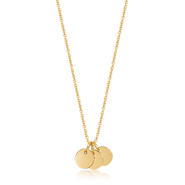 Trinity Necklace (Gold)